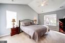 Master bedroom - 25272 RIPLEYS FIELD DR, CHANTILLY