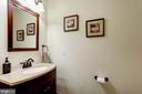 main level 1/2 bath - 25272 RIPLEYS FIELD DR, CHANTILLY