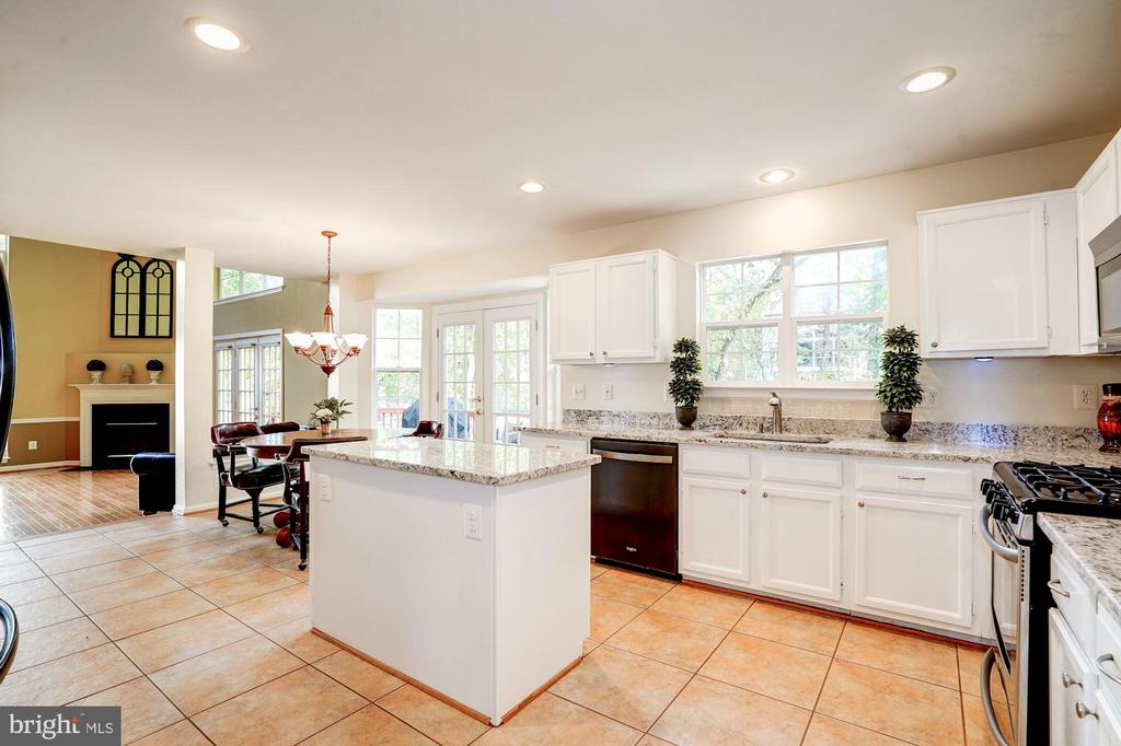 kitchen/familyroom - 25272 RIPLEYS FIELD DR, CHANTILLY