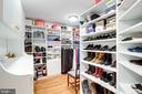 Master Closet #1, Custom with drawers - 7357 NICOLE MARIE CT, MCLEAN