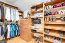 Master Closet #2, Custom with drawers - 7357 NICOLE MARIE CT, MCLEAN