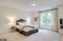 Bedroom 2 w/ ensuite bath - 7357 NICOLE MARIE CT, MCLEAN