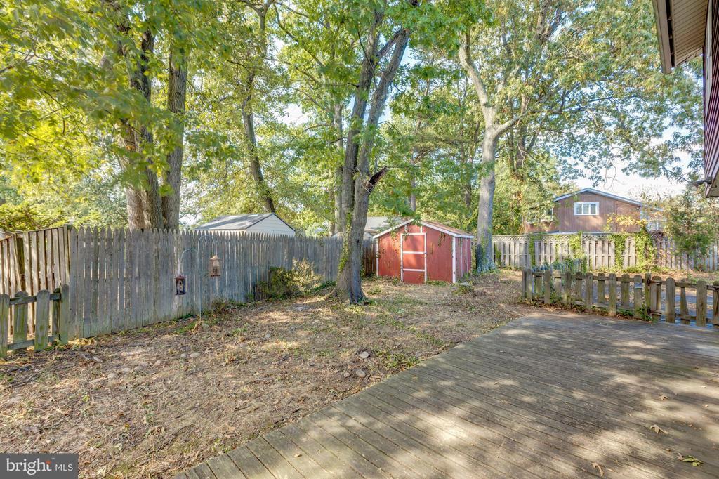 Backyard - 6321 MERLE PL, ALEXANDRIA