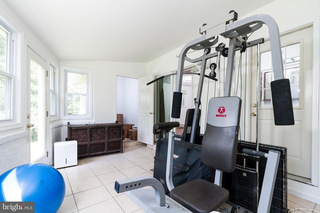 Workout Room off Master Bedroom - 1113 SPOTSWOOD DR, SILVER SPRING