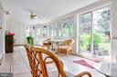 Enclosed  Back Porch off Dining Room - 1113 SPOTSWOOD DR, SILVER SPRING