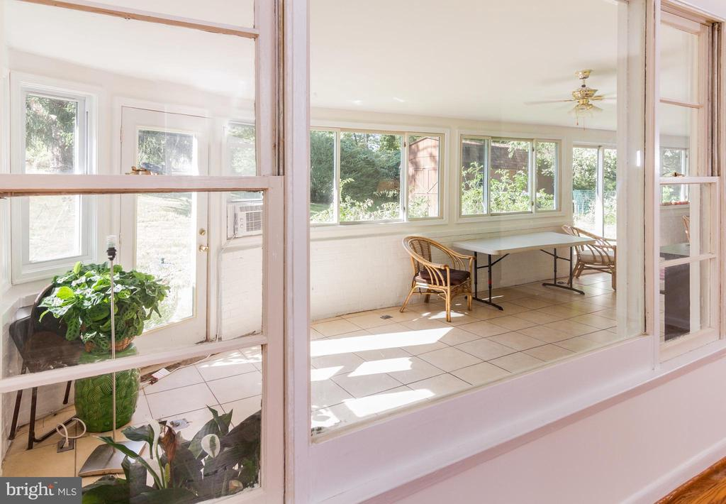 Enclosed Patio off Dining Room - 1113 SPOTSWOOD DR, SILVER SPRING