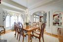BIG BAY WINDOW, ARCHES & CABINETRY - SO BEAUTIFUL! - 2669 BROOK VALLEY RD, FREDERICK