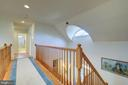 DRAMATIC HALL ON THE UPPER LEVEL - 2669 BROOK VALLEY RD, FREDERICK