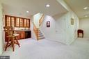 FULLY FINISHED LOWER LEVEL - 2669 BROOK VALLEY RD, FREDERICK