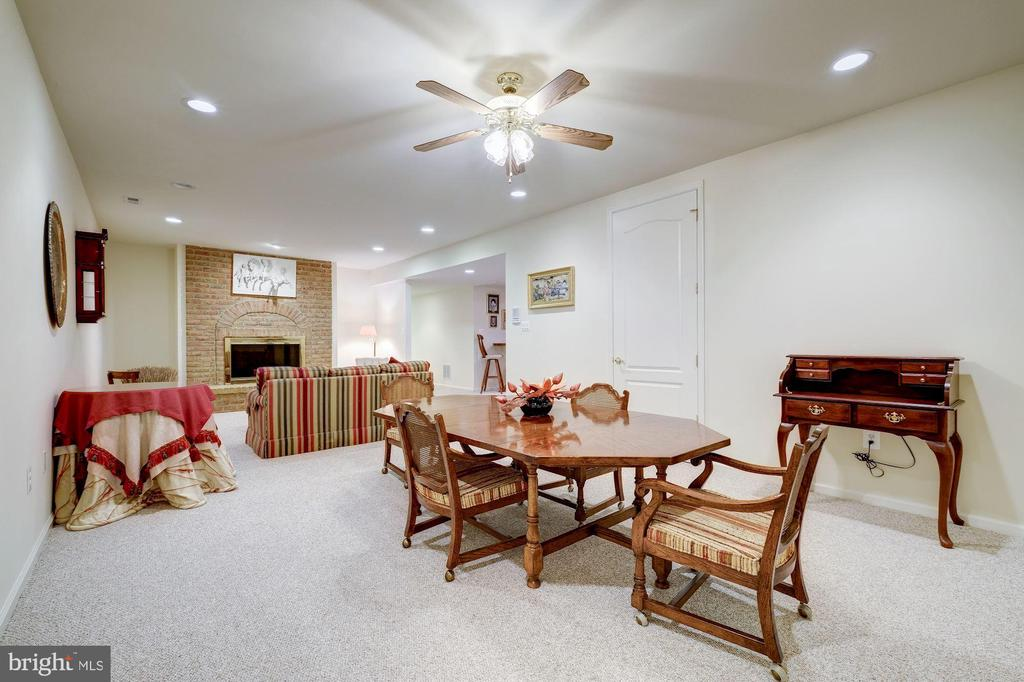 VERY LARGE GREAT ROOM ON THE LOWER LEVEL - 2669 BROOK VALLEY RD, FREDERICK