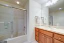 FULL BATH ON THE LOWER LEVEL - 2669 BROOK VALLEY RD, FREDERICK