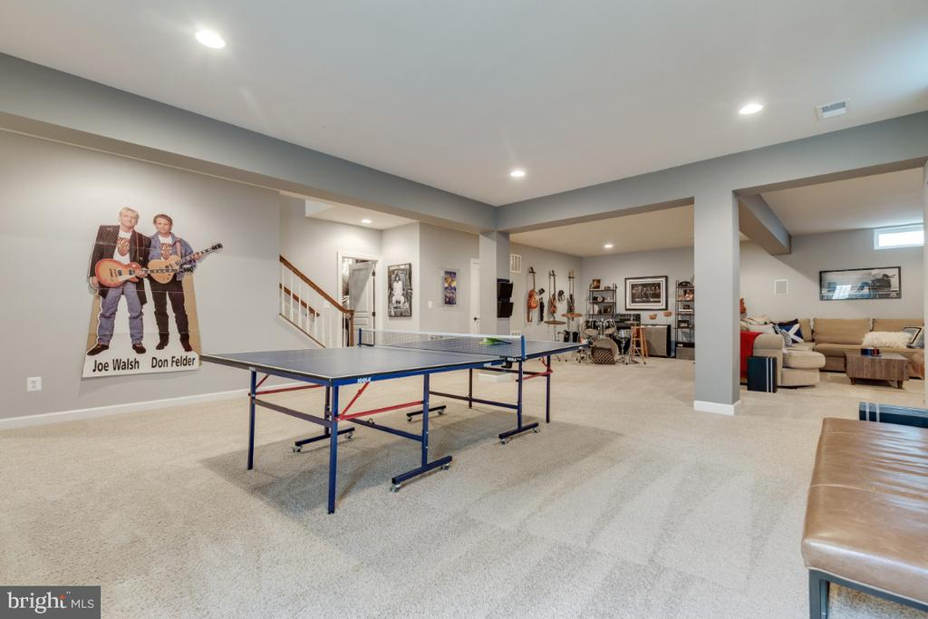 Open recreation room is versatile! - 25401 JUBILANT DR, ALDIE