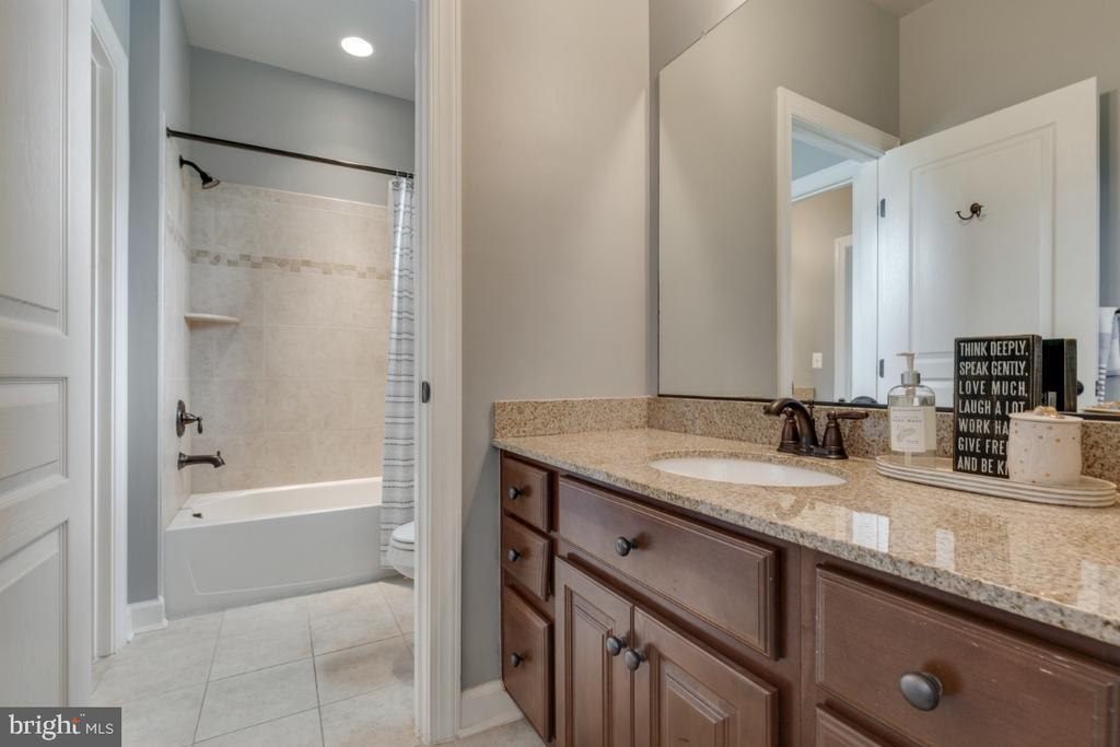 Jack-n-Jill bathroom for bedrooms 3 and 4. - 25401 JUBILANT DR, ALDIE