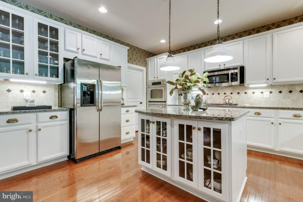 Stunning light fixtures, plenty of cabinet space - 25401 JUBILANT DR, ALDIE