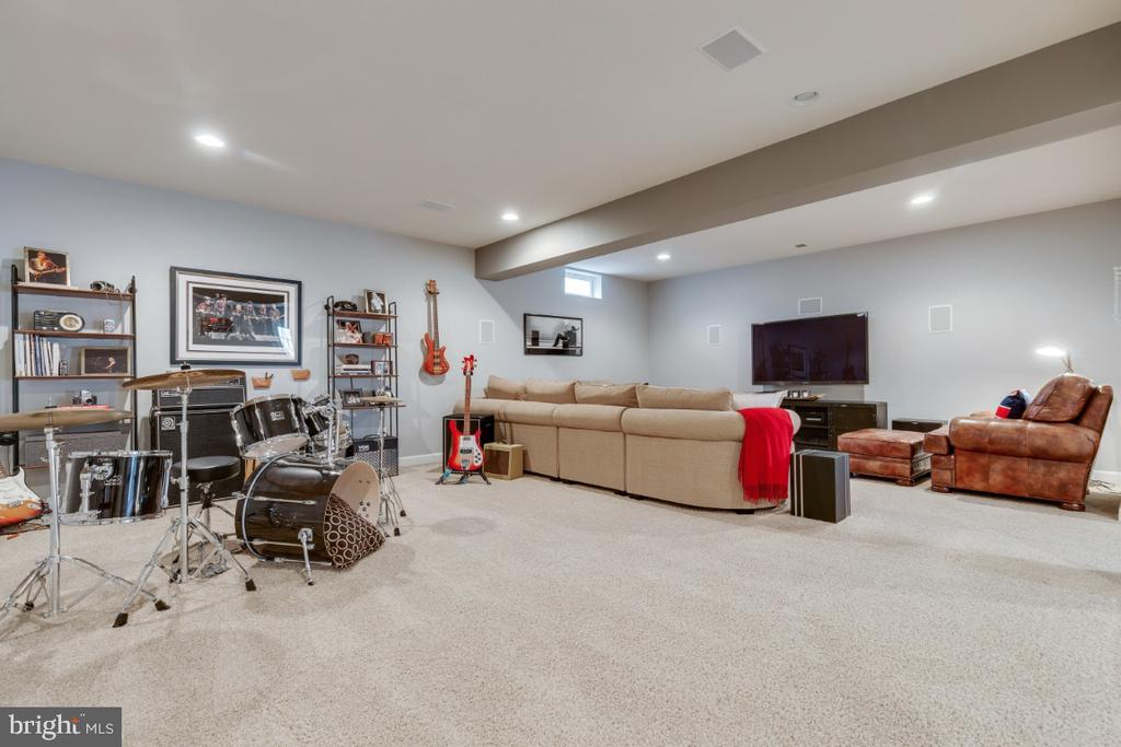 Built in speakers for perfect media and acoustics. - 25401 JUBILANT DR, ALDIE