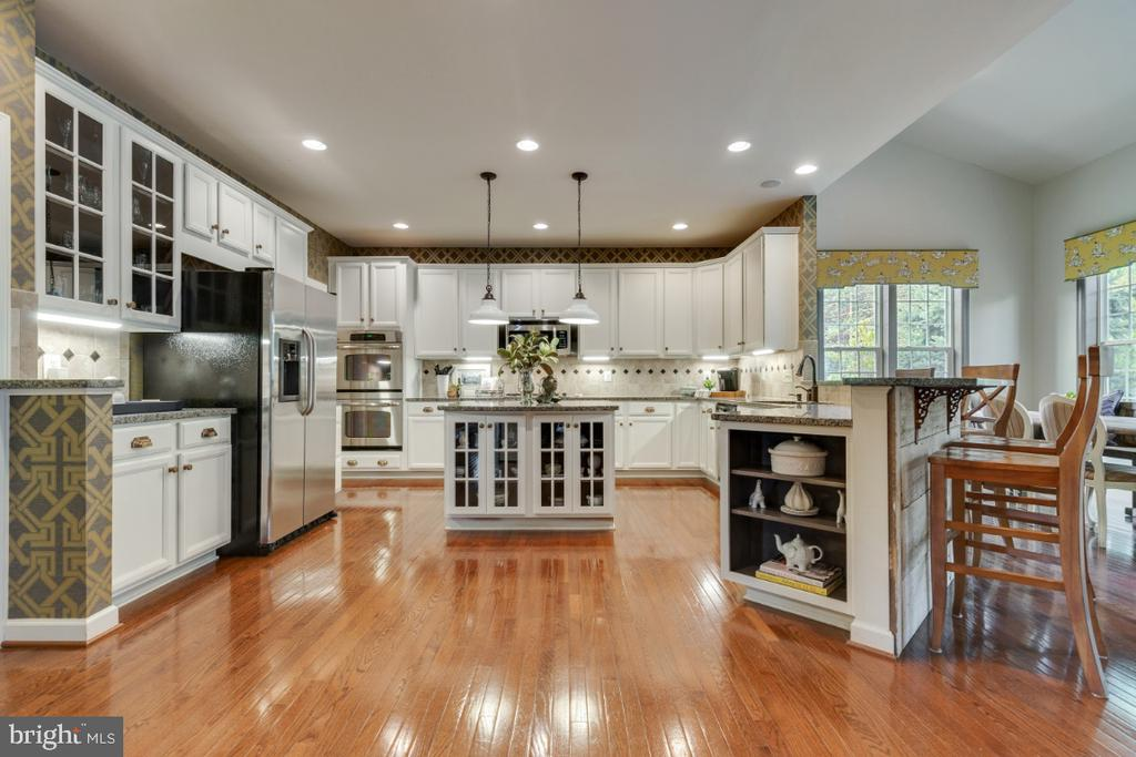 Incredible gourmet kitchen and professional design - 25401 JUBILANT DR, ALDIE