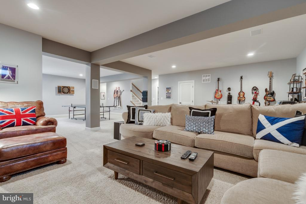 Perfect space for gaming and movies. - 25401 JUBILANT DR, ALDIE