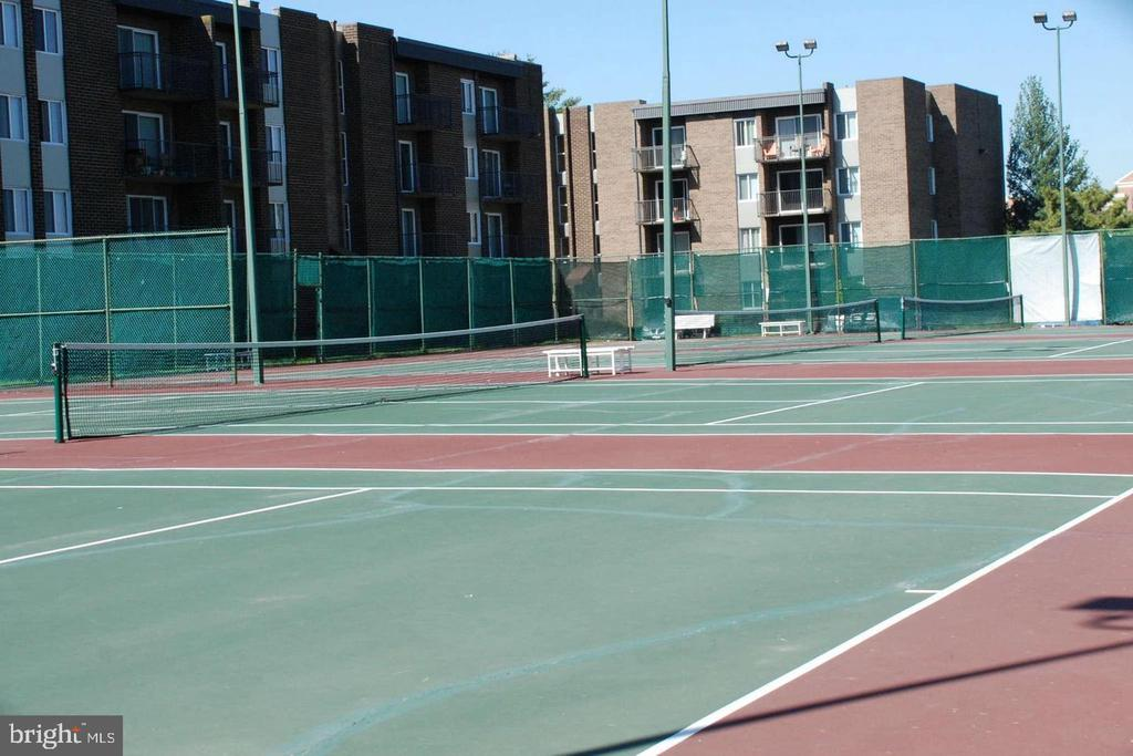 What amazing courts for a day of tennis - 12 S VAN DORN ST #404, ALEXANDRIA