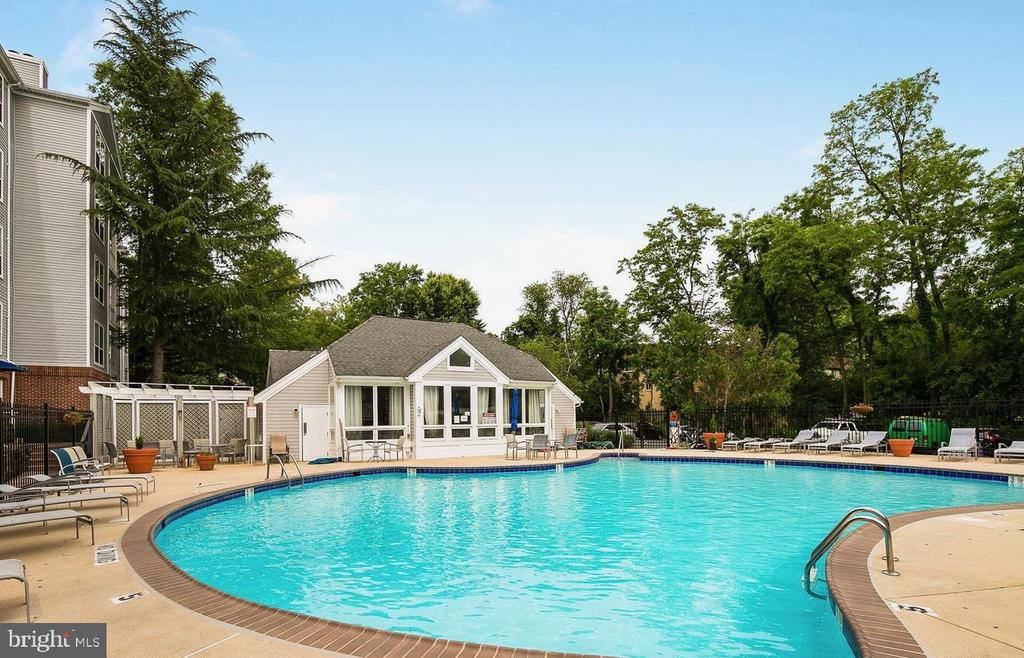 Take a dip in the hot summer at the pool - 10248 APPALACHIAN CIR #1-A3, OAKTON
