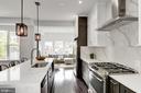 Gorgeous updated kitchen - 1362 OAK ST NW, WASHINGTON