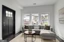 Charming sitting room off the kitchen - 1362 OAK ST NW, WASHINGTON
