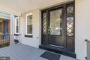 Deep welcoming front porch - 1362 OAK ST NW, WASHINGTON