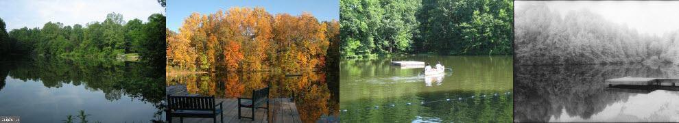 community private Woodside Lake - 8746 BROOK RD, MCLEAN