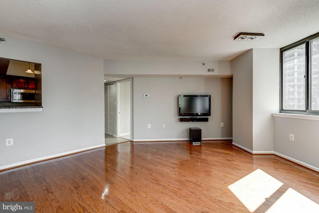 Open Living/Dining Area - 1001 N RANDOLPH ST #1003, ARLINGTON