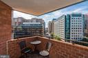 Balcony - 1001 N RANDOLPH ST #1003, ARLINGTON