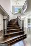Elegant Stairs Up (1 of 2) - 8533 GEORGETOWN PIKE, MCLEAN