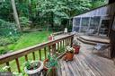 Deck spans with width of the home! - 10733 CROSS SCHOOL RD, RESTON