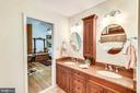 Fully remodeled w/granite, dual vanity, glass shwr - 10733 CROSS SCHOOL RD, RESTON