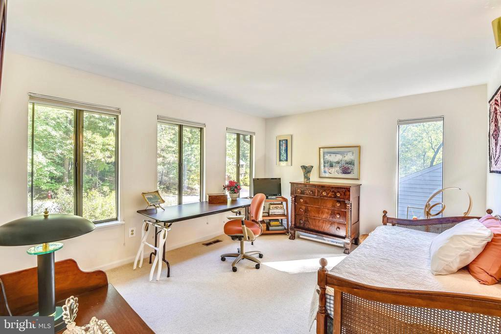 So much light in this natural setting - 10733 CROSS SCHOOL RD, RESTON