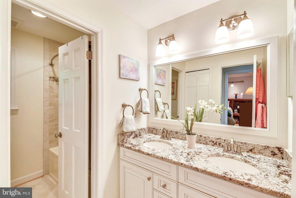 Remodeled UL bath with granite, pull up ladder! - 10733 CROSS SCHOOL RD, RESTON