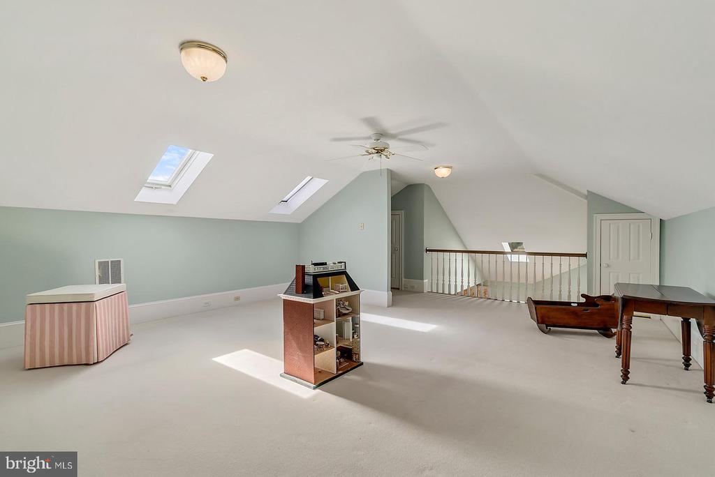 Loft area in Master - 39655 SNICKERSVILLE TPKE, MIDDLEBURG