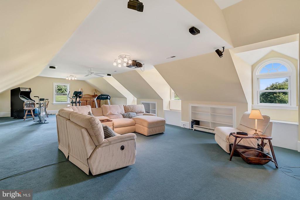 Upper Level Media Room - 39655 SNICKERSVILLE TPKE, MIDDLEBURG