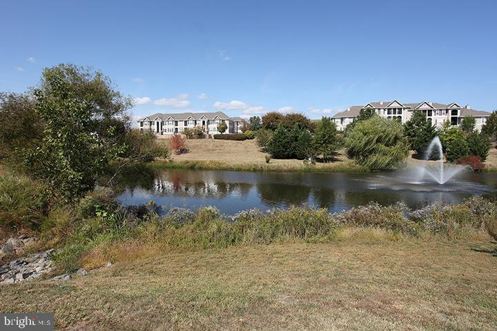 Gorgeous view of lake in Tavistock Farms - 806 SANTMYER DR SE, LEESBURG
