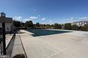 Community pool-ALt view - 806 SANTMYER DR SE, LEESBURG