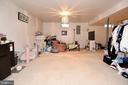 Large basement - 13919 WHETSTONE MANOR CT, CLIFTON