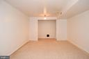 Flexible space in the basement - 13919 WHETSTONE MANOR CT, CLIFTON