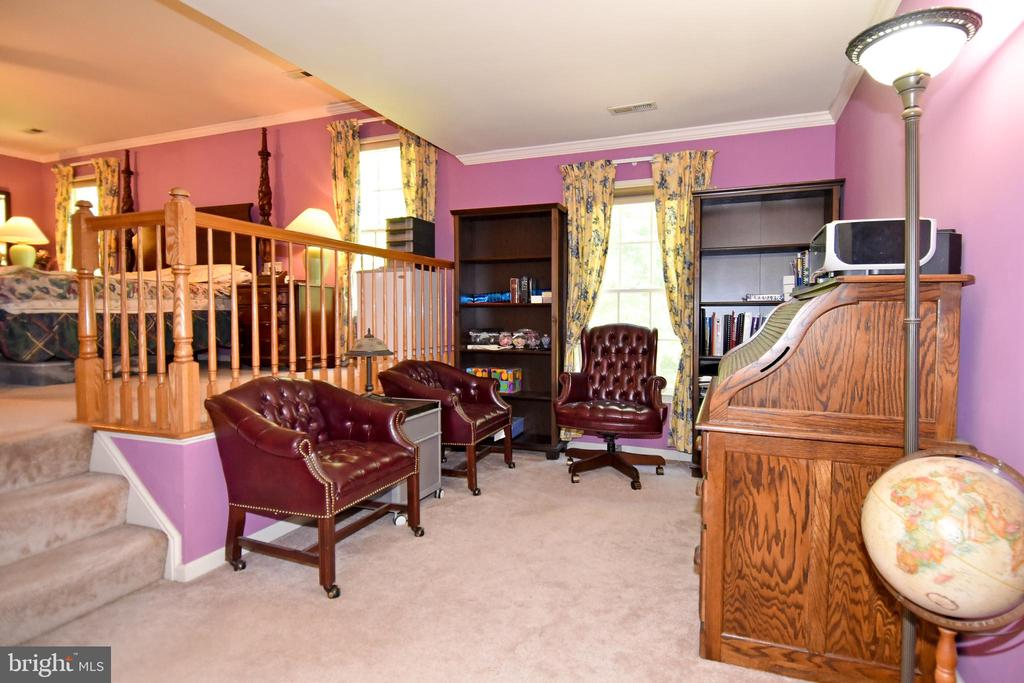 Master bedroom features large seating area - 13919 WHETSTONE MANOR CT, CLIFTON