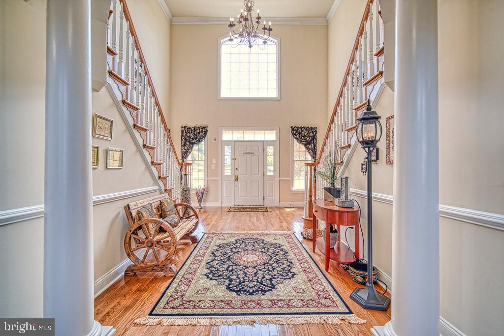 Dramatic entrance for your guests - 15500 BANKFIELD DR, WATERFORD