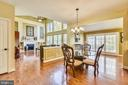 Breakfast room off of kitchen - 20190 KIAWAH ISLAND DR, ASHBURN