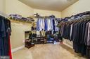 Large master walk-in closet - 20190 KIAWAH ISLAND DR, ASHBURN