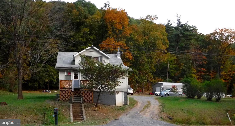 Single Family Homes per Vendita alle ore Rawlings, Maryland 21557 Stati Uniti