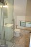 Updated Full Bath upstairs with glass shower - 812 BOWIE RD, ROCKVILLE