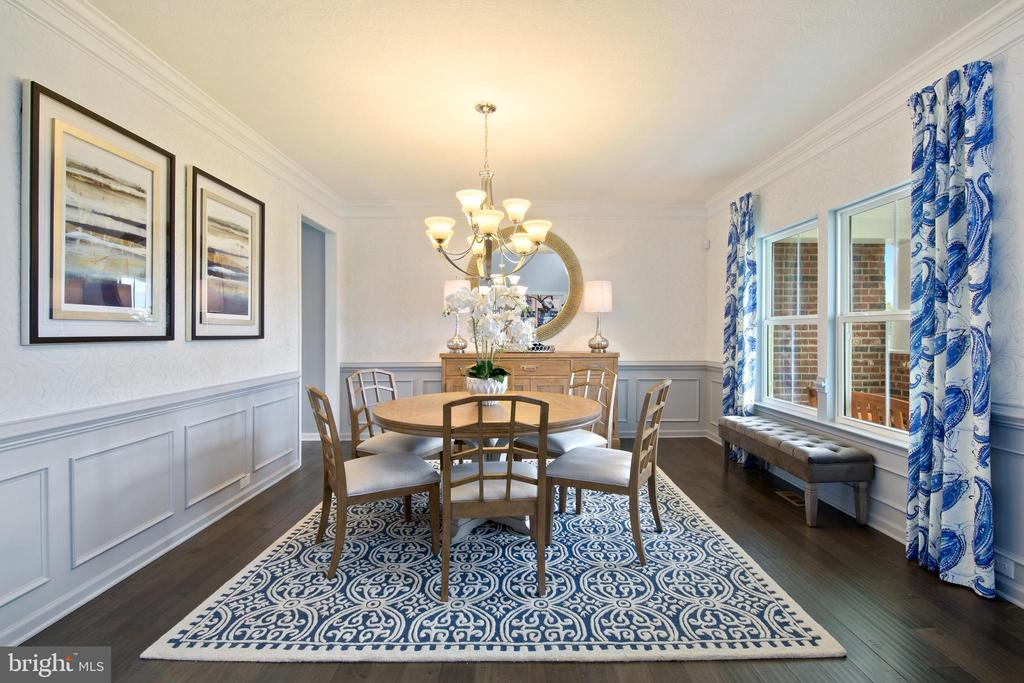 SPACIOUS AND INVITING DINING ROOM - UPPER PATUXENT RIDGE RD, ODENTON