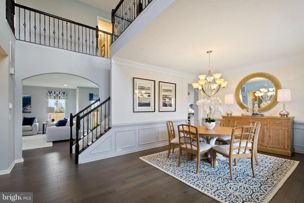 FOYER ENTRANCE TO YOUR DREAM HOME - UPPER PATUXENT RIDGE RD, ODENTON