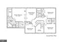 Upper level floorplan - 806 SANTMYER DR SE, LEESBURG