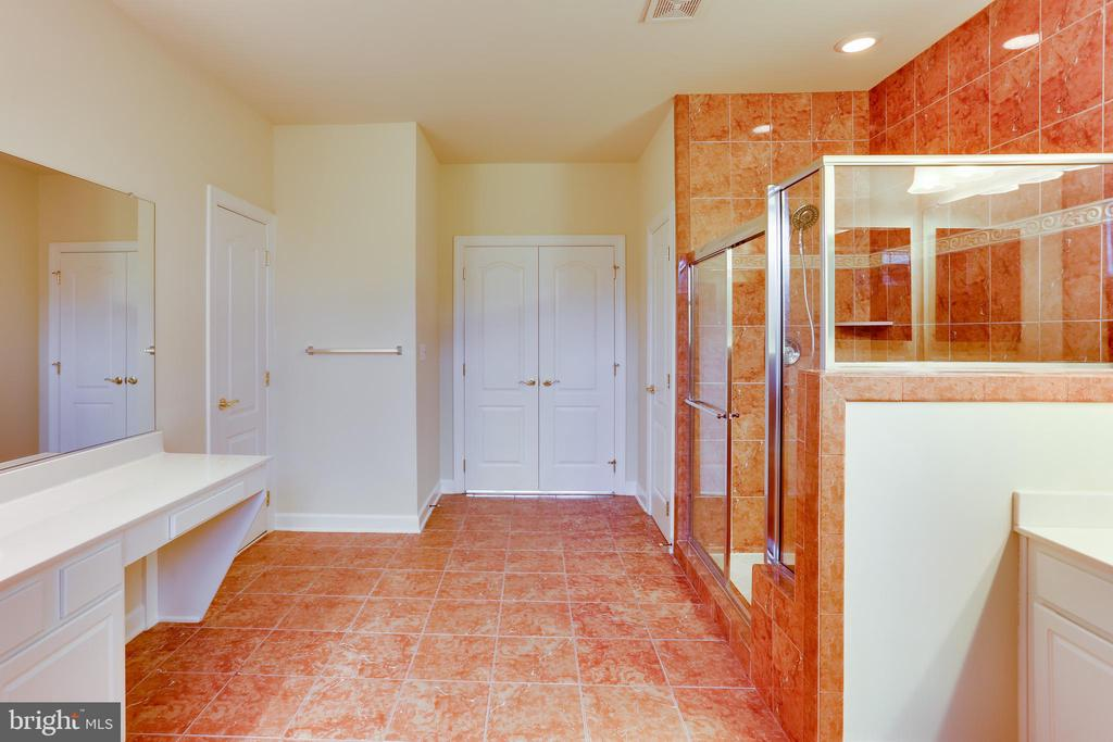 Luxury master bathroom - 23098 DUCATO CT, BRAMBLETON
